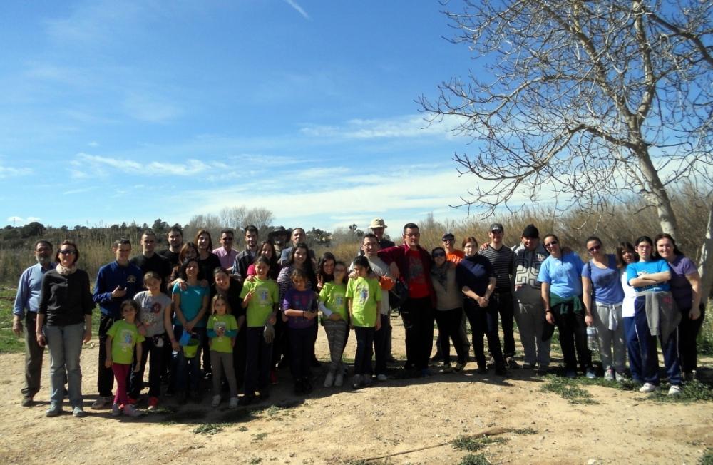 Crònica: Plantàrem més de 100 arbres junt al riu Túria... (6/6)